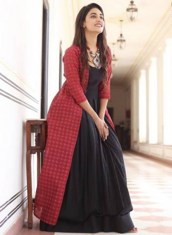 Black Muslin Silk Party Wear Digital Print Gown